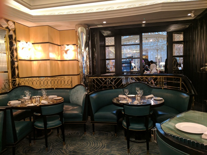 Kasper's Seafood Bar and Grill at The Savoy Hotel, London